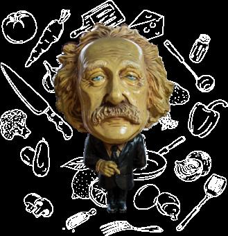 Albert Einstein Figur